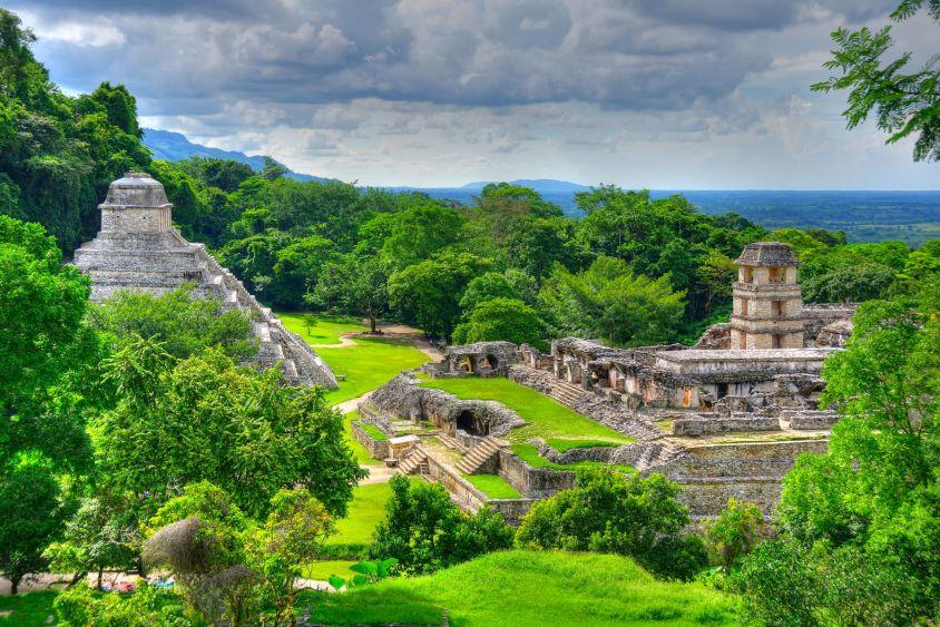 Palenque-Ruins